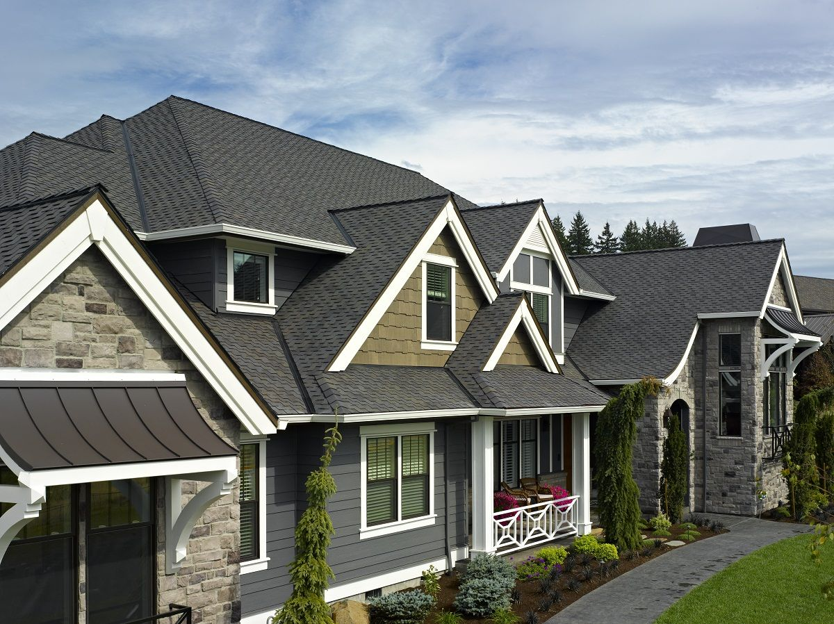 Best Certainteed Presidential Shake Roof In Shadow Gray 400 x 300
