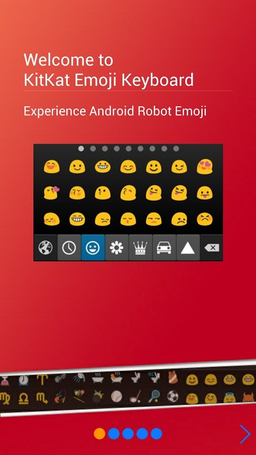 Kit Kat Emoji Keyboard 4 X V1 09 Apk Requirements Android 4 0 Overview This Is An The Latest Kitkat Emoji K Emoji Keyboard App Emoji Keyboard Android Emoji