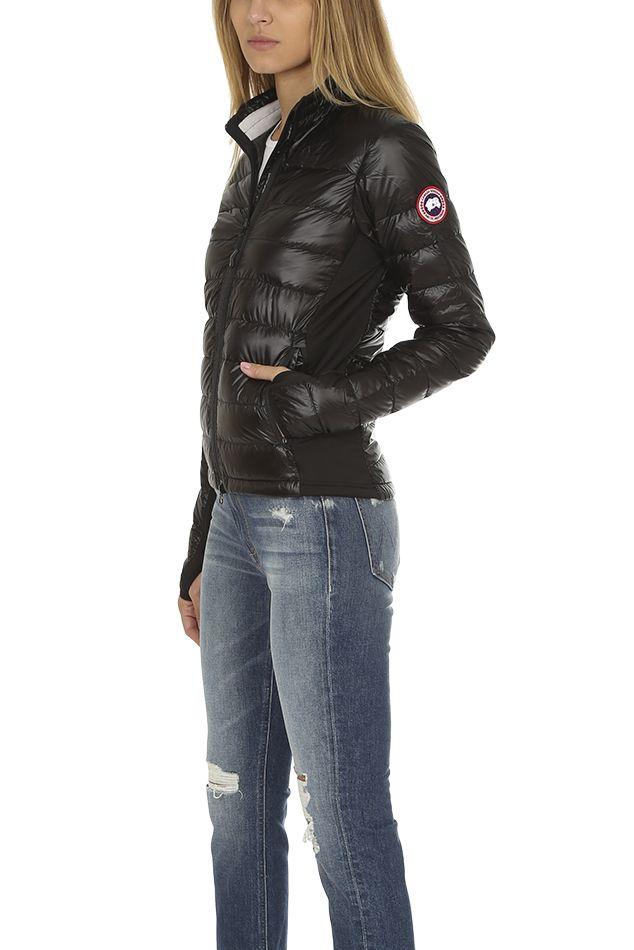 Canada Goose Hybridge Lite Jacket In Black Graphite Size Medium Canada Goose Women Warm Outerwear Jackets