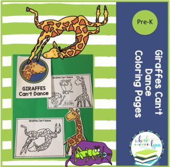 Giraffes can't dance free coloring pages   Dance coloring ...