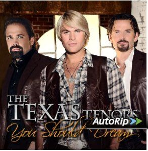 Texas Tenors - classical crossover trio vocal group formed by Country singer JC Fisher, Pop vocalist Marcus Collins and Opera singer John Hagen.