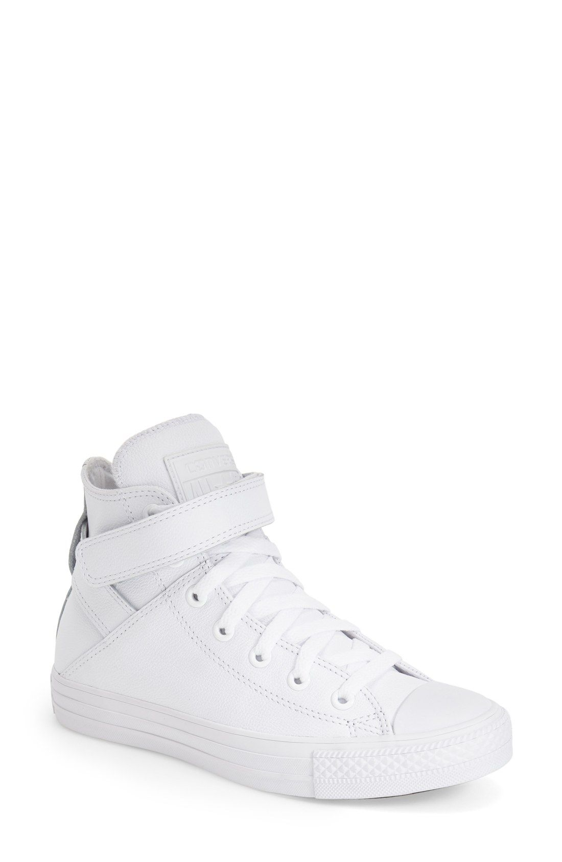 Converse Chuck Taylor® All Star® 'Brea' Leather High Top Sneaker (Women