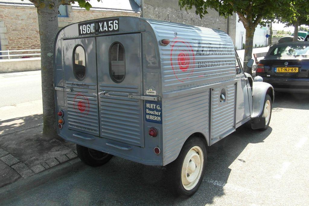 2cv camionnette azu