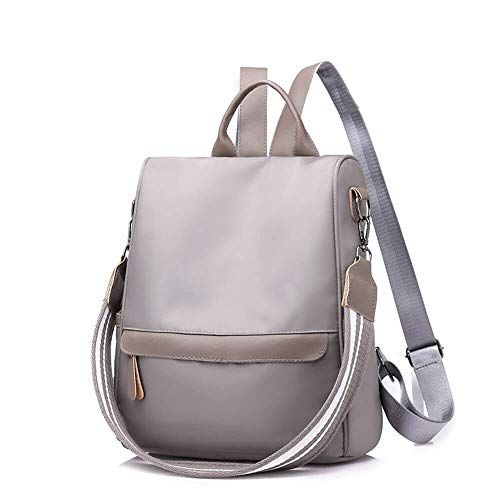 Photo of Tecing Women Backpack Purse Ladies Mini College Schoolbags Waterproof Nylon Casual Daypack Girls Rucksack Anti-Theft Covertible Designer Shoulder Bags