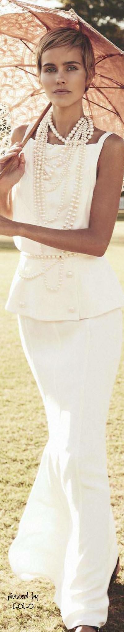 Isabel Lucas in Chanel Resort 2014 for Vogue Australia- ♔LadyLuxury♔