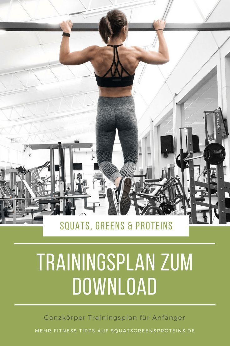 Die besten Kraftübungen für Frauen im Fitnessstudio - Squats, Greens & Proteins by Melanie Die be