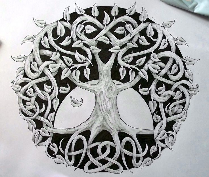 Tattoo Designs Hd Images: Celtic Tree Tattoo Designsceltic Tree Of Life By Tattoo
