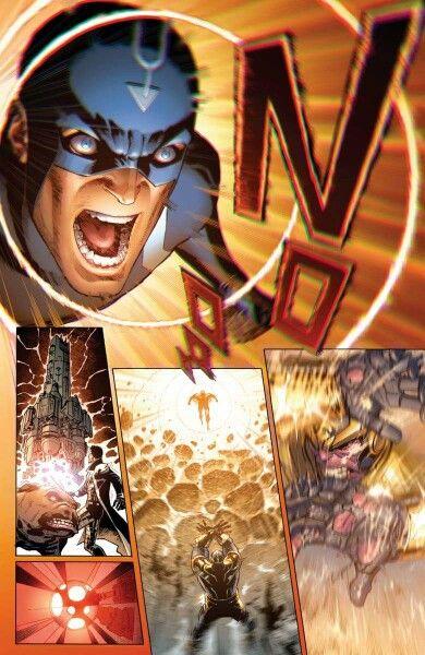 Black Bolt Vs Thanos Comic Book Superheroes Marvel Comics Marvel Inhumans
