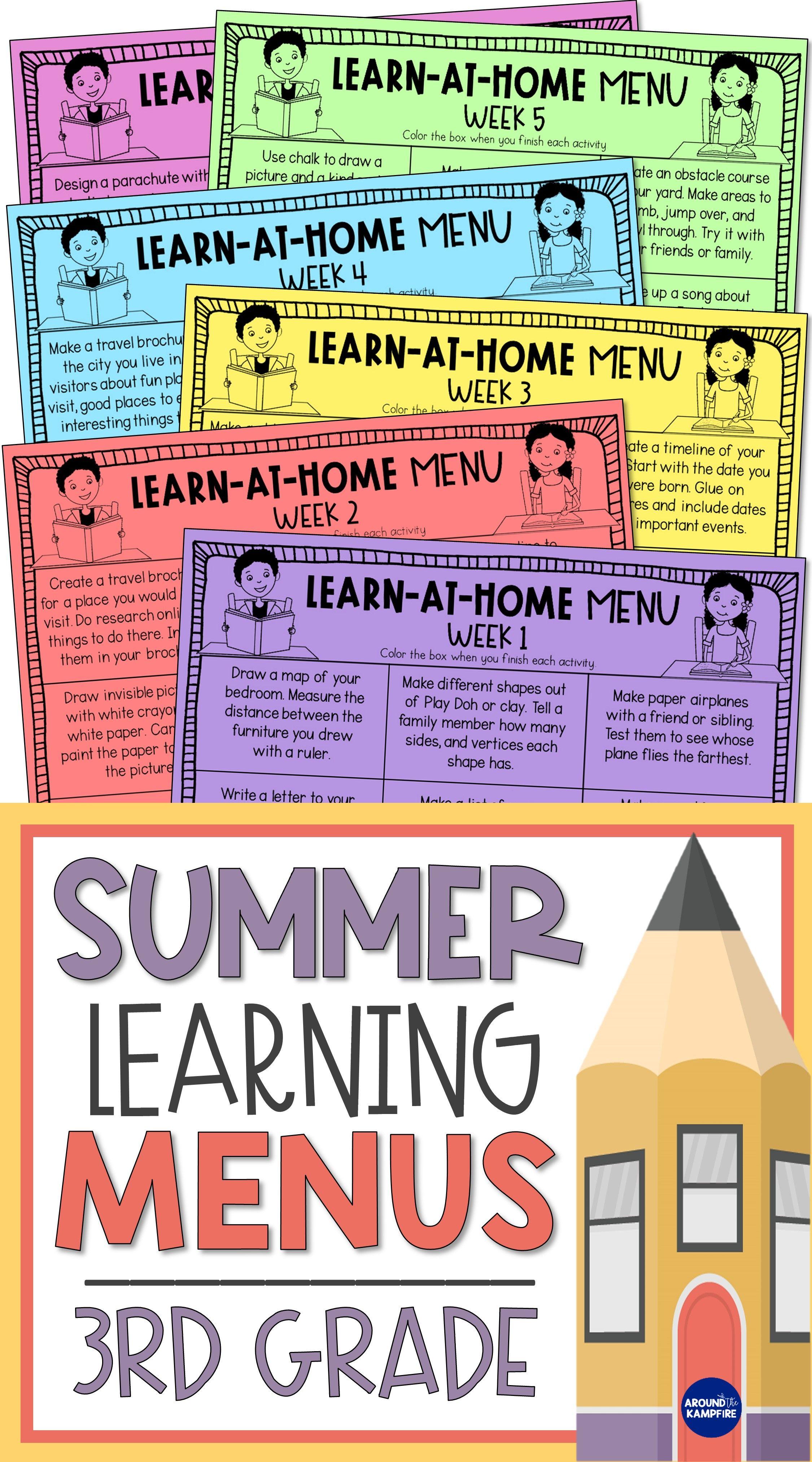 3rd Grade Summer Review Activities Parent Letter Letter To Parents Summer Learning Activities Summer Review Activities [ 4050 x 2250 Pixel ]