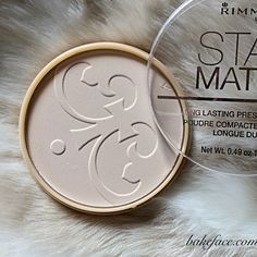 Bake Face's tips for makeup that lasts ALL day!  Stay Matte Pressed Powder by Rimmel London