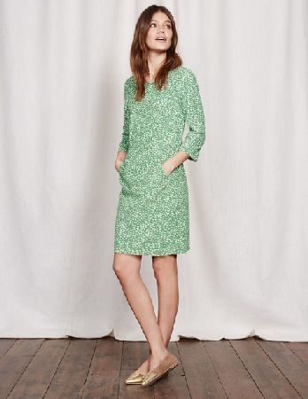 8203d8e18ca #Boden Hannah Seam Detail Dress Green Geo Bird Women #This easy cord dress  has a secret weapon. Is it the lush fabric, perfect for those in-between  seasons?