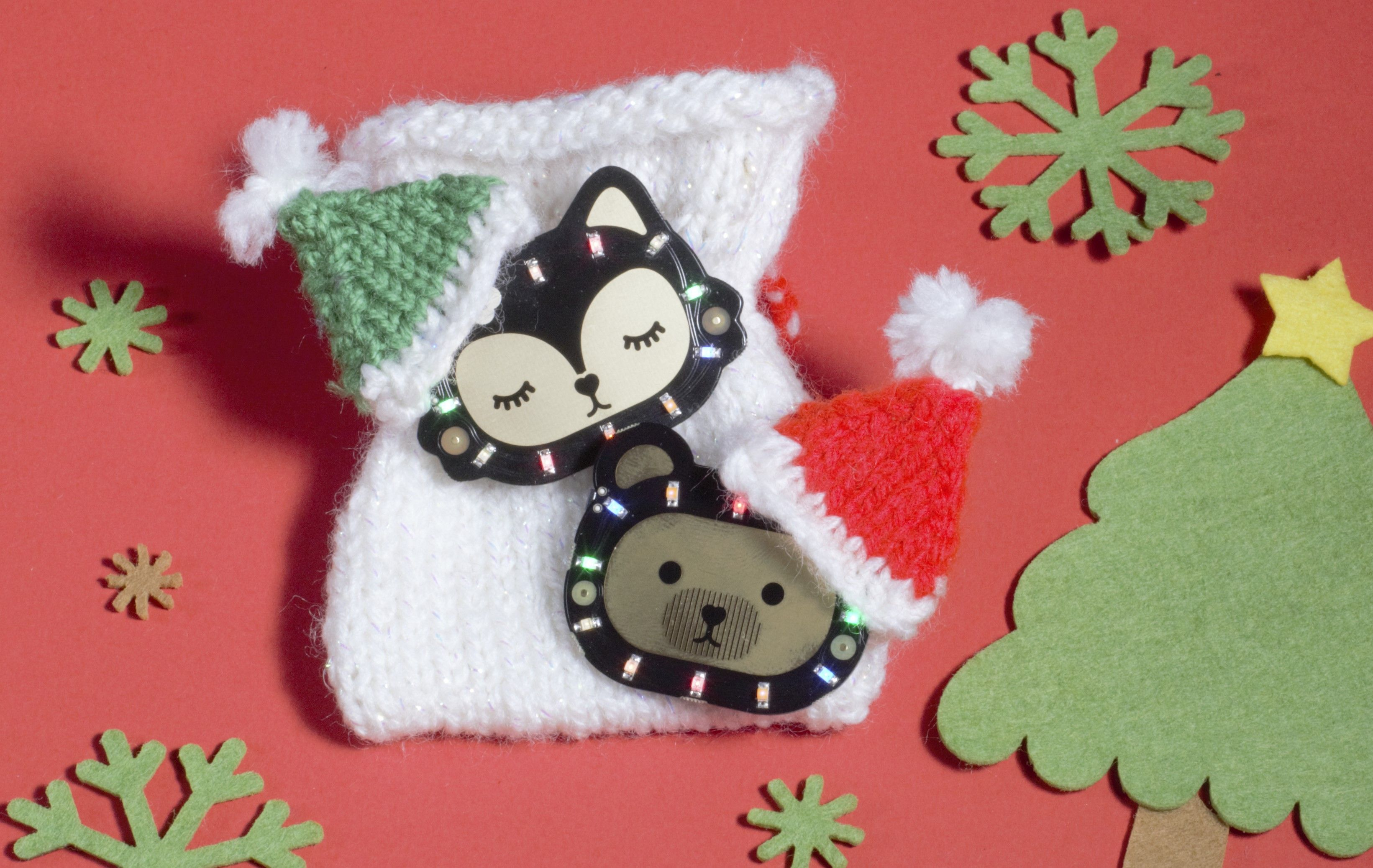 Kitsch-mas Knits For Your Bearables! | Knitting, Free ...