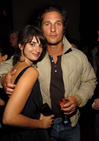 penelope cruz and matthew mcconaughey men men men in