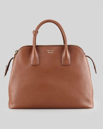 Soft Saffiano Triple-Zip Satchel Bag 2990c2dd1b2