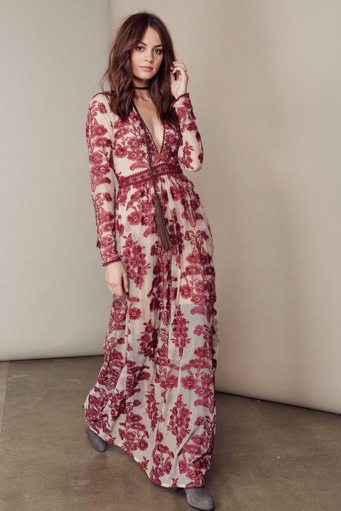 TEMECULA MAXI DRESS – For Love & Lemons. women's fashion ...