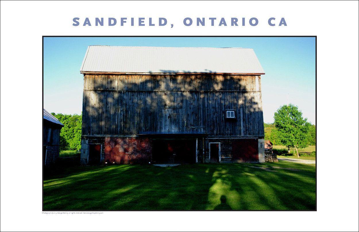 Barn at Watson's Bay, Sandfield, Ontario, Canada 677