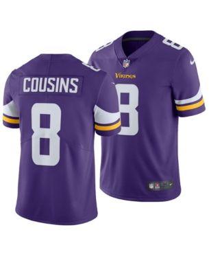 Nike Men s Kirk Cousins Minnesota Vikings Vapor Untouchable Limited Jersey  - Purple 3XL 47e74b04e