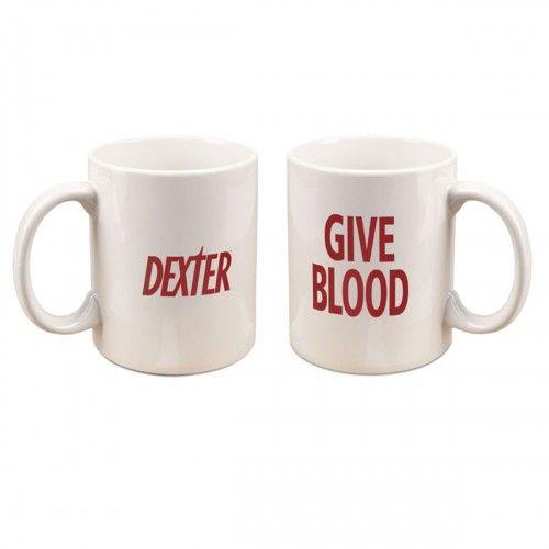 Dexter Give Blood Mug