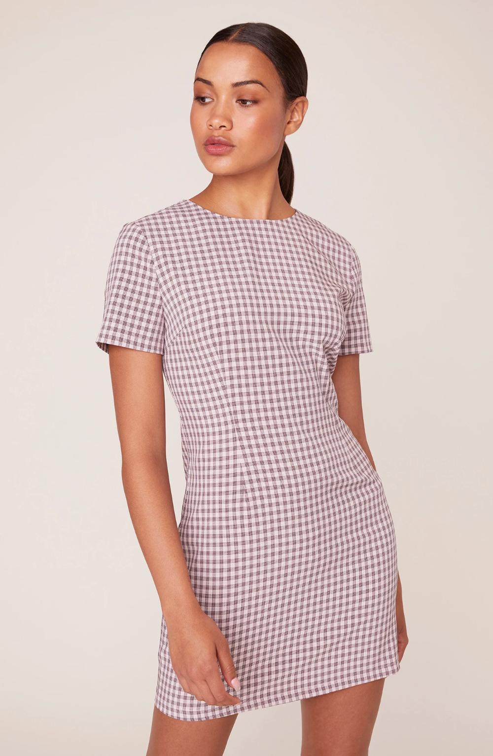 Checked Out Shift Dress Bb Dakota Short Sleeve Shift Dress Shift Dress Dresses [ 1532 x 1000 Pixel ]