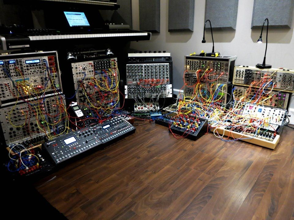 synth heaven music studio synthesizer music electronic music instruments music. Black Bedroom Furniture Sets. Home Design Ideas