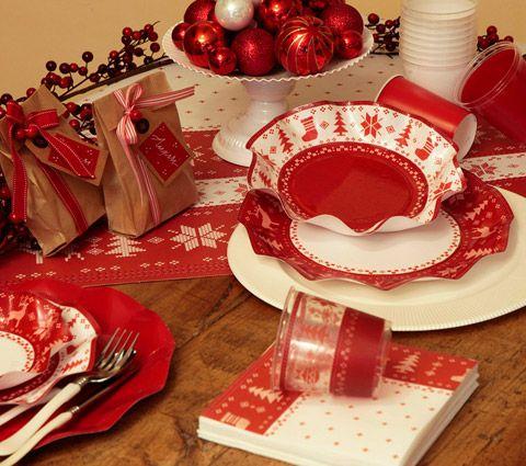 Exclusive trade piatti di carta per natale bicchieri di for Piatti e bicchieri per feste bambini