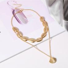 Photo of TALIYAH | Cute golden Indie Summer Boho necklace collier Hawaiian sea shells ocean | Goldefarbene Halskette Choker Muscheln Meer Ozean