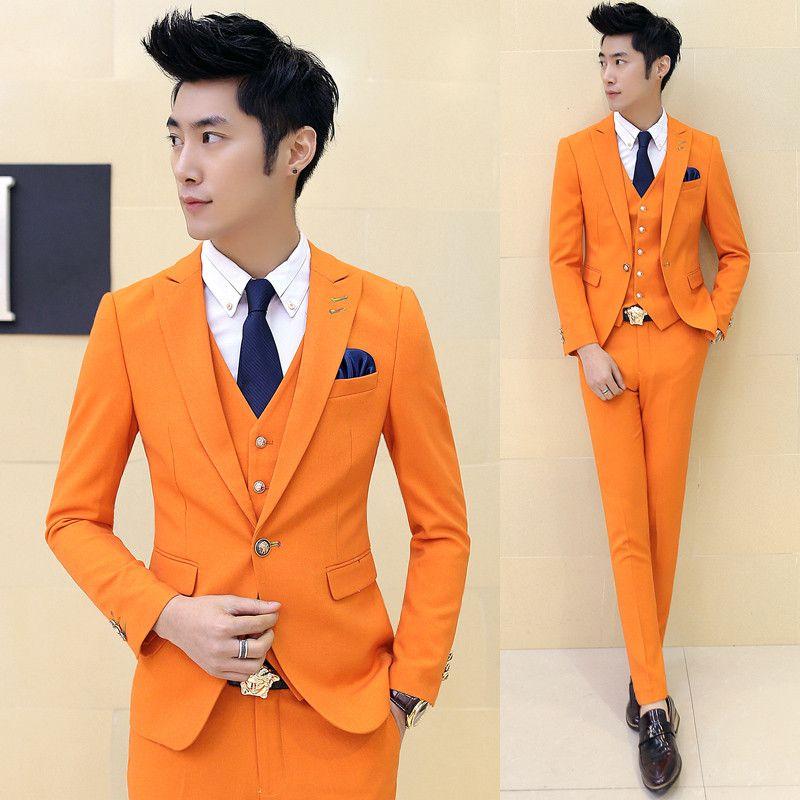 Men's Dress Suit Evening Wear