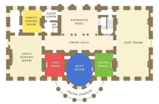 White House Floorplan Thepeopleshouse Washingtondc White House Rooms White House House Map