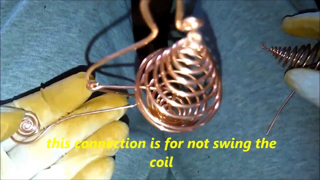 Create a Starcraft Without Motors - Tutorial - How To Make The Coils -pa.