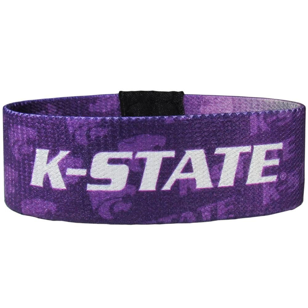 retail prices hot sale online 100% top quality Kansas State Wildcats Stretch Fabric Wristband | Products ...