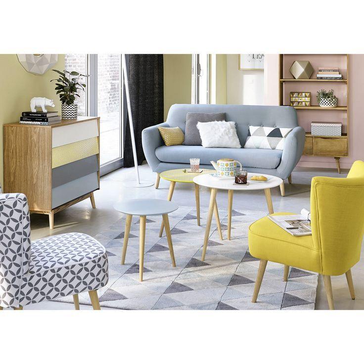Kommode Im Vintage Stil Mit 4 Schublade Bunt Maisons Du Monde Interior Design Living Room Home Living Room Interior Design Living Room Warm