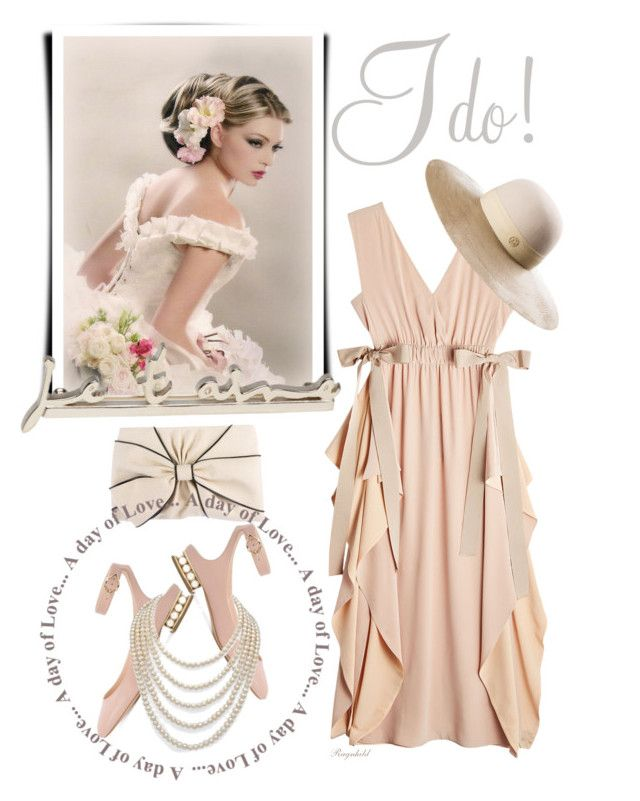 """""""Say I Do: Summer Wedding, Outfit for a Guest!"""" by ragnh-mjos ❤ liked on Polyvore featuring Yves Saint Laurent, Fendi, Kate Spade, Nicholas Kirkwood, DaVonna and Maison Michel"""