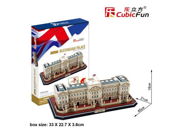 Rompecabezas 3D: Buckingham Palace 72 piezas