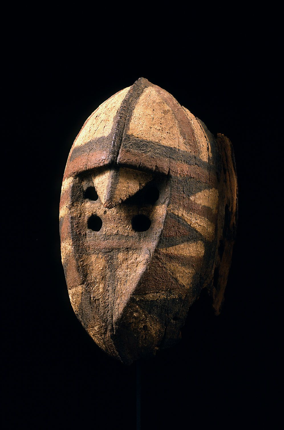 "Mossi hawk mask, wan-silga, 10 ?"" h. - Thomas G. B. Wheelock Collection"