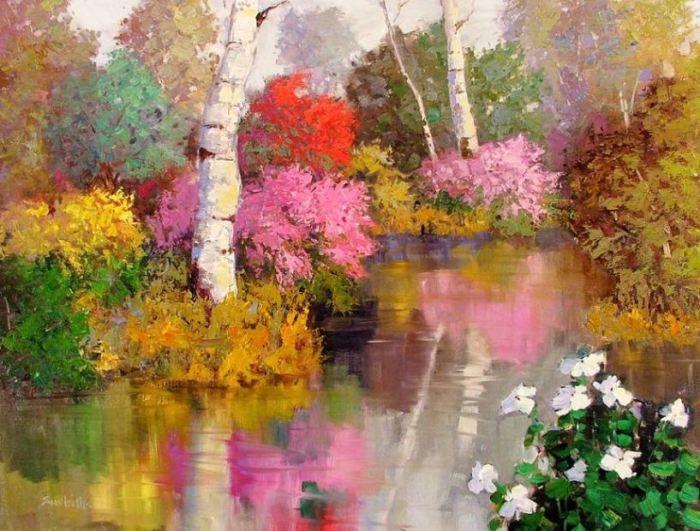 Oil Paintings by Sean Wallis
