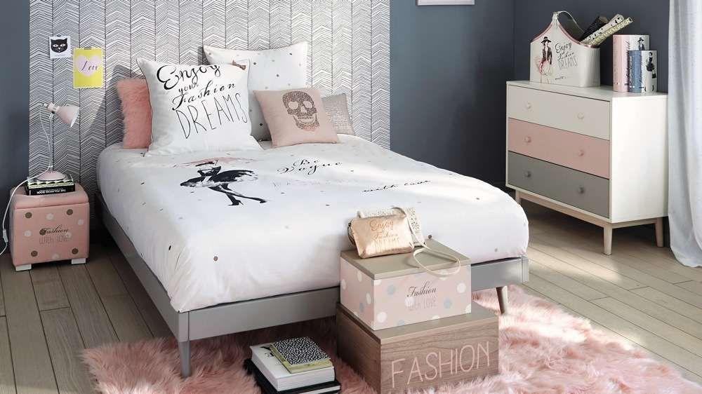 Chambre ado rose poudr id es chambre pinterest chambre chambre ado et chambre ado rose - Deco chambre rose poudre ...