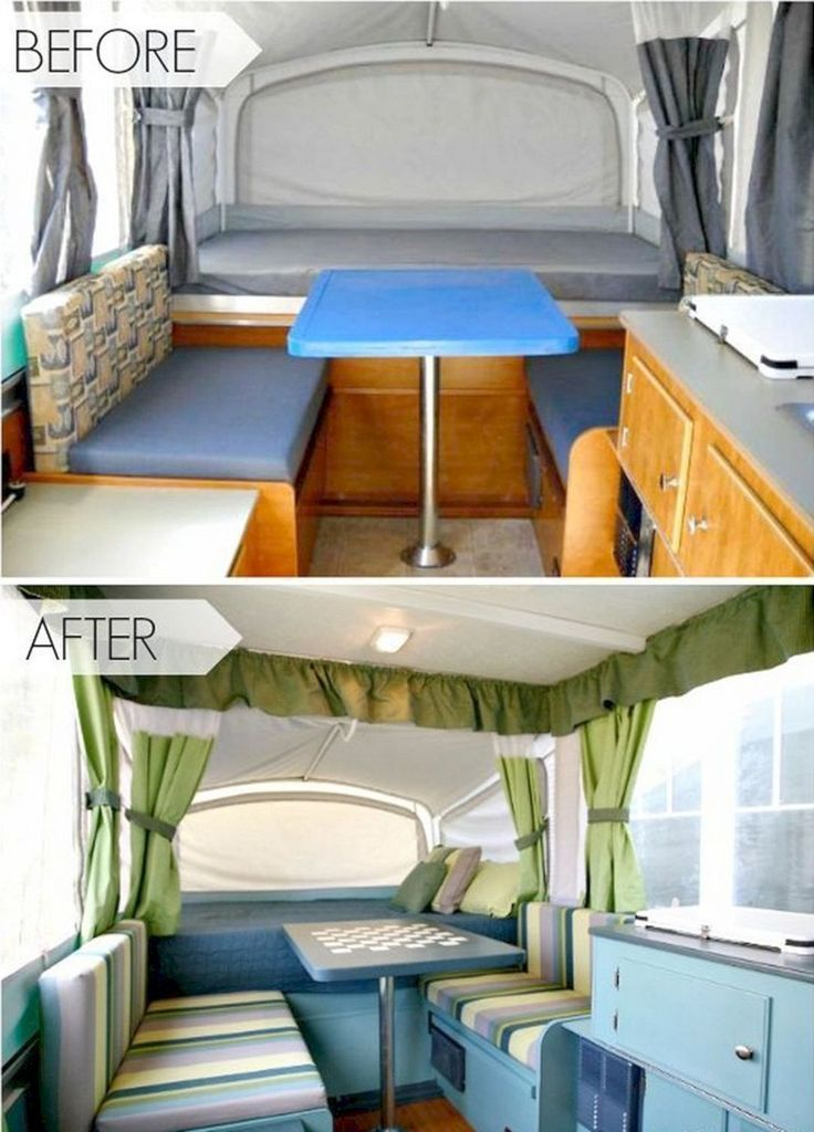 Nice 25 Best Rv Camper Interior Remodel Ideas Before And After