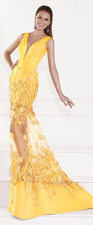 Elegant satin u tulle vneck mermaid formal dresses in nd