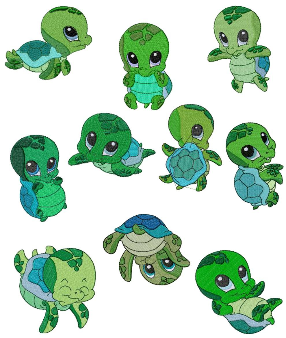 Image result for baby sea turtles clipart