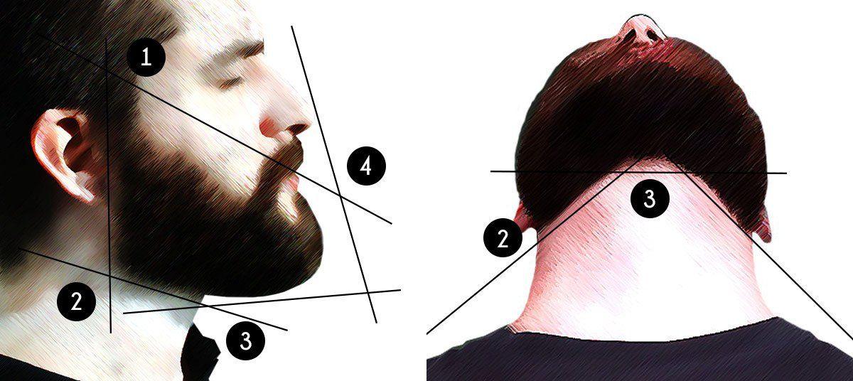 wie rasiere ich meine konturen konturen rasieren teil 1 bart stile bart konturen und bart