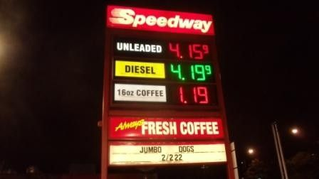 Gas prices are at the highest Labor Day price in history in 2012, beating the former 2008 record.