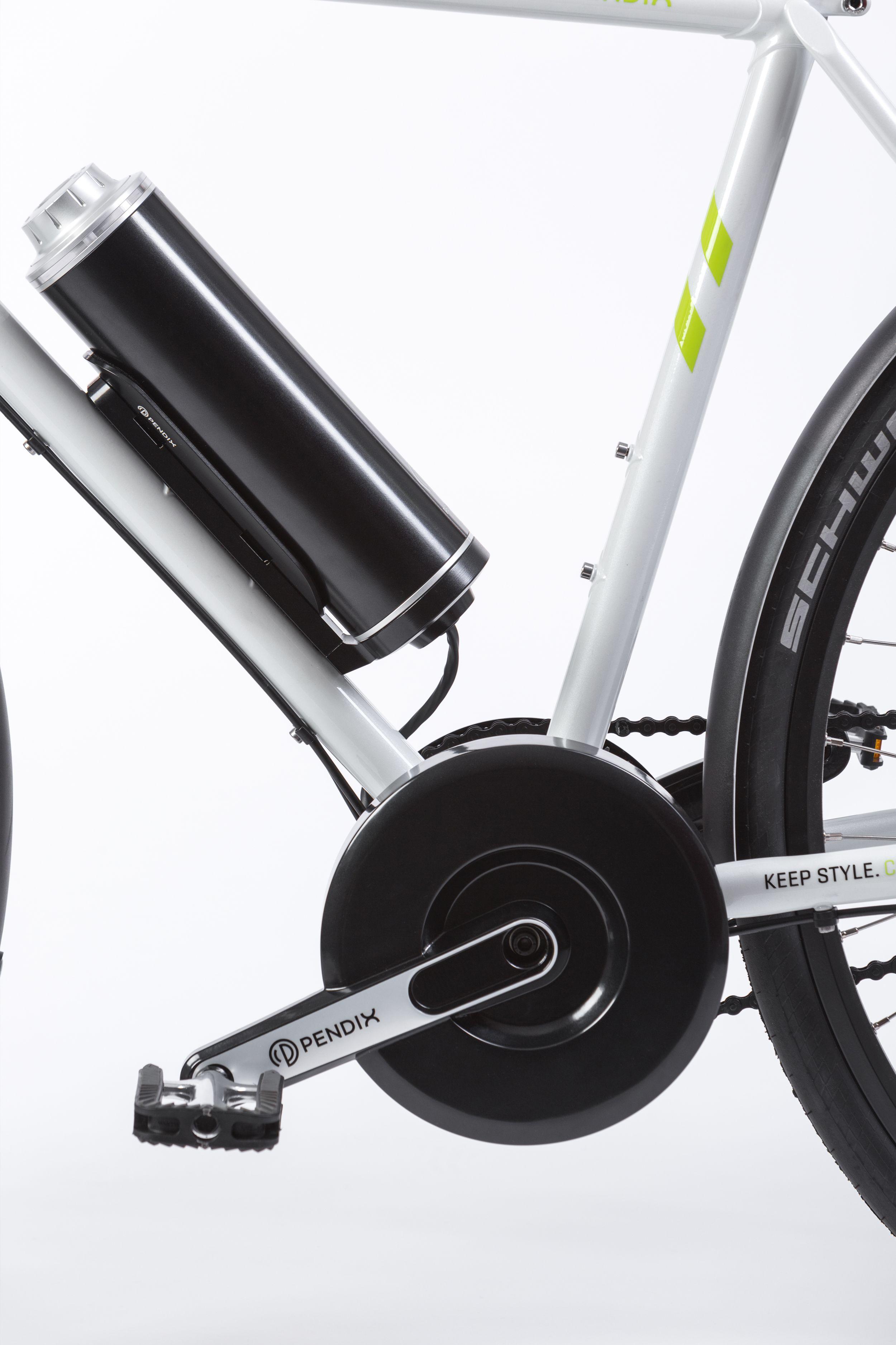 Der Pendix lässt sich an nahezu jeden Fahrradrahmen als ...