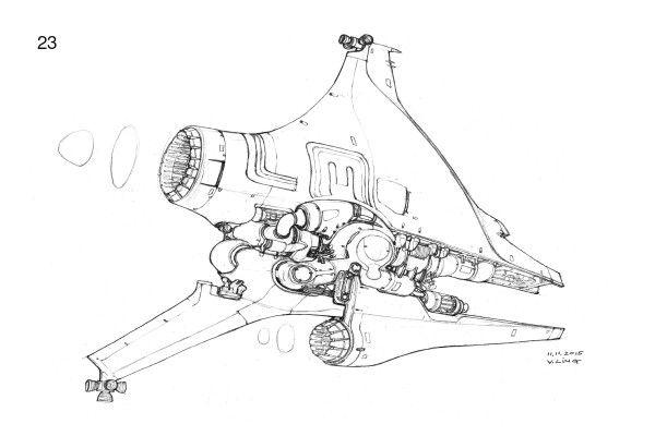 HEAVYPOLY — Spaceship Sketches