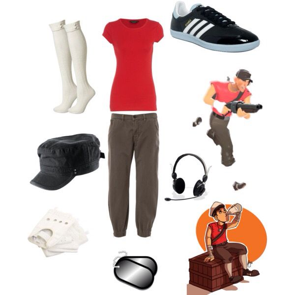 Cosplay as Scout from Team Fortress 2 with these simple