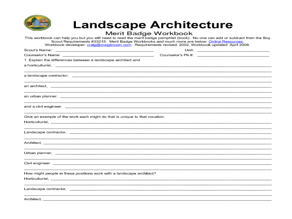 38 Awesome Merit Badge Worksheets Design Ideas S