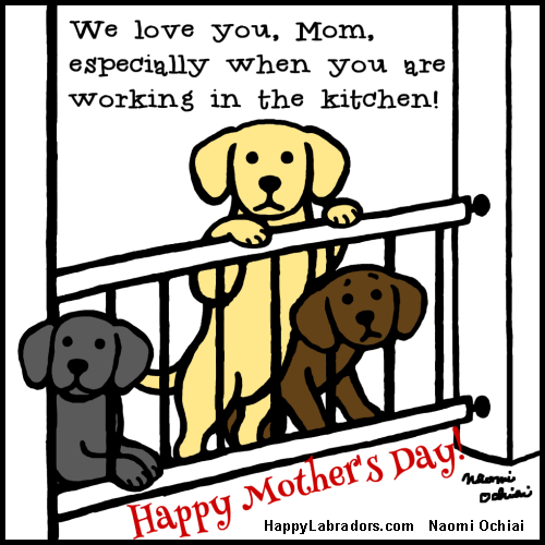 Image result for mothers day dog cartoons