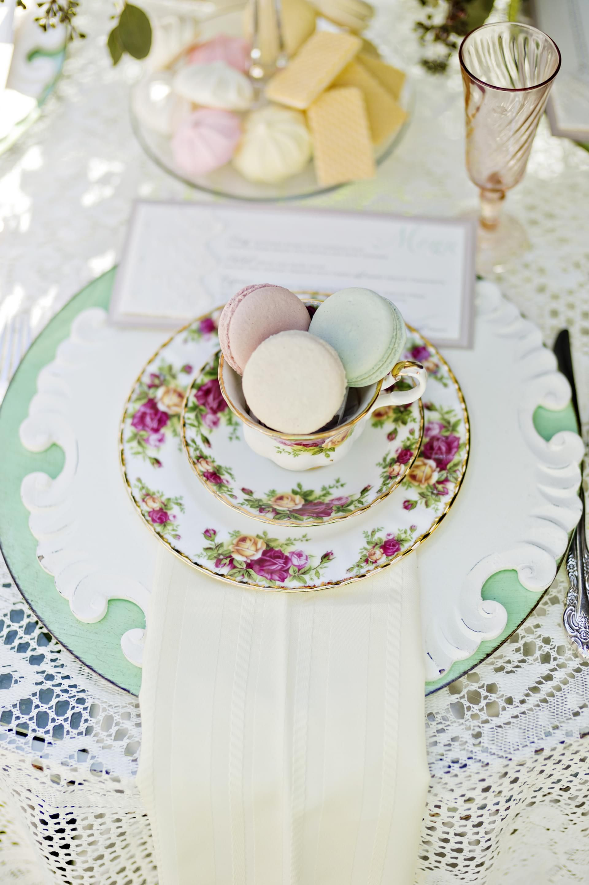 Tea Party Themed Styled Shoot - Comer, GA | Tea parties, Lace table ...