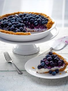 No Bake Blueberry Pie is part of No Bake Blueberry dessert - Learn how to make a no bake blueberry pie and other blueberry recipes from the Blueberry Council  Kick your desserts up a notch with this delicious no bake blueberry pie