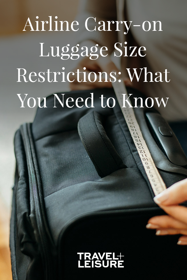 A Carry On Luggage Size Guide By Airline Luggage Sizes Carry On Luggage Carry On Bag Size