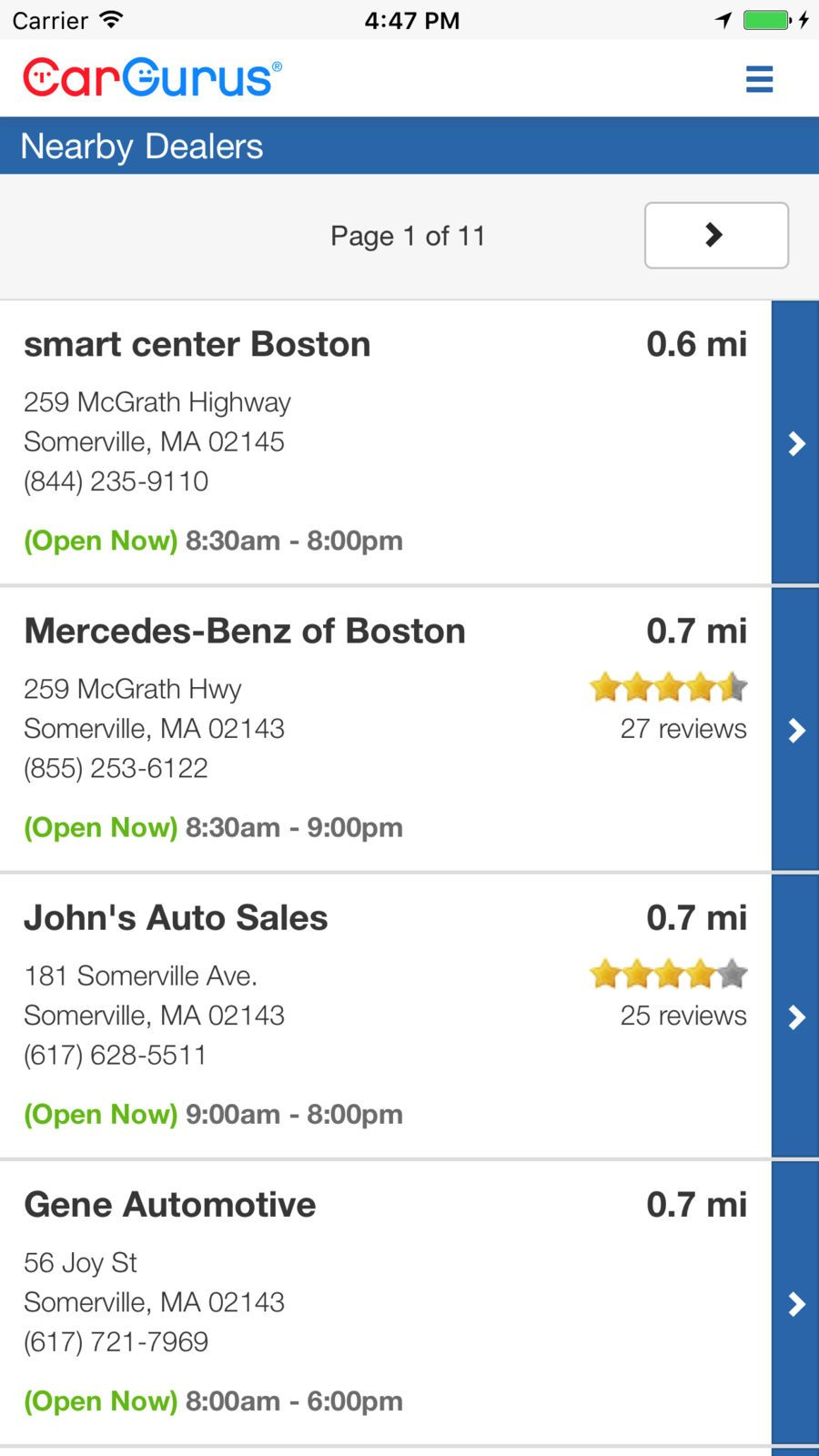 CarGurus: Shop Cars, Get Deals #Reference#Shopping#apps# ...
